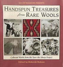 Handspun Treasures from Rare Wools edited by Deborah Robson