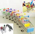 Parrot Bird MINI Supermarket Shopping Cart Kids Toy Intelligence Growth Toy VV