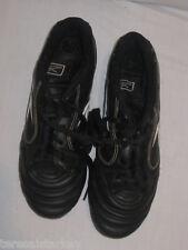 Reebok Boys Girls black Soccer Cleats 6