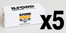 Pellicola medio formato Rullino BN bianco e nero Ilford PanF Plus 50 120 5pz.