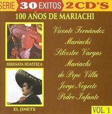 Vicente Fernandez, Mariachi Silvestre Vargas, 100 Anos de Mariachi  2CD New