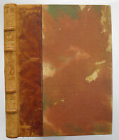 Soeurs by A J Cronin - rare half-leather in French 1947 demi-cuir en Francais