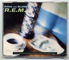 R.E.M. - REM, bang and blame, maxi CD