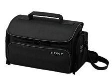 New! Official SONY Handycam Camera Soft Carrying Case LCS-U30 Black from Japan!