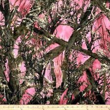 Pink True Timber MC2 Outdoors Tree Branches Conceal Camo 100% cotton fabric BTQY