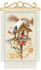 Counted Cross Stitch Kit RIOLIS - Cottage Garden. Winter