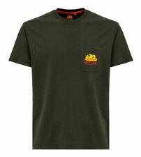 T-shirt Sundek uomo M028TEJ7800 verde militare