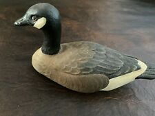 Canada Goose Decoy - signed P. Shelor 5-5-87 Resin material Duck