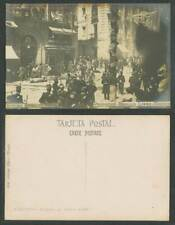More details for spain morral affair 1906 old postcard 10 minutes after the explosion, calle mayo