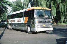 Mayflower Coach MCI bus Kodachrome original Kodak slide