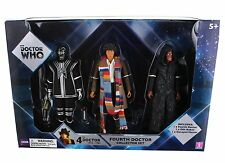 Doctor Who Fourth Doctor Collector Set Action Figures D84 Decayed Master NEW!