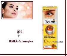 EYE CREAM Anti wrinkle  VEGAN Q10 + Omega complex Very effective Balea 15 ml