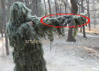 Hunting Camouflage Rifle Gun Weapon Cover for Camo Ghillie Sniper Paintball