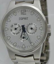 ESPRIT - 3-Augen Kalender - 100091 / Herrenarmbanduhr / Edelstahl