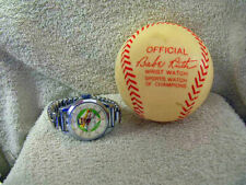 Vintage Orig. 1st Edit. Babe Ruth watch, MINT condition in orig plastic Baseball