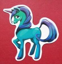 "Sticker Adhesivo ""unicornio (1)"" brillo-Optik StickerBomb portátil decorativas habitación infantil"