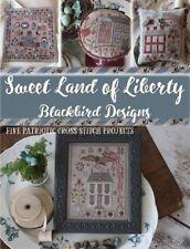 Sweet Land of Liberty Blackbird Designs Cross Stitch Pattern Paperback