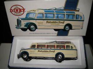 MATCHBOX DINKY  DY-S-10 1950 MERCEDES BENZ DIESEL OMNIBUS TYPE 0-3500 BUS