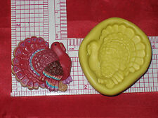 Thanksgiving Turkey Silicone Mold Cake Chocolate A512 Resin Clay Fondant Fimo