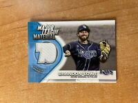 2021 Topps Series 1 - Brandon Lowe - Major League Materials Relic RAYS