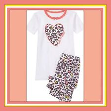 "NWT 12-18 Mos Gymboree ""LOVE TO SLEEP"" GYMMIES Camouflage 2pc COTTON heart PJs"