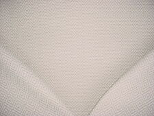 5+Y LEE JOFA BEIGE / WHITE EMBROIDERED ETHNIC IKAT COTTON UPHOLSTERY FABRIC