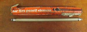Vintage Light Bar Fire Pencil Element
