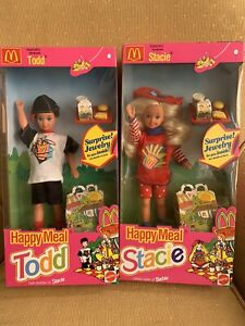 Set Of 2 Stacie And Tod Happy Meal By Mattel 1993