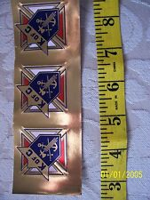 KNIGHTS OF COLUMBUS - 3rd Degree Gold Foil STICKER 1 1/2 inch Count 3