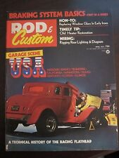 Rod & Custom Magazine April 1973 Technical History of Racing Flathead (JJ)