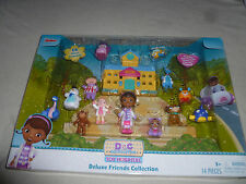 NEW DISNEY JUNIOR DOC MCSTUFFINS TOY HOSPITAL DELUXE FRIENDS COLLECTION SET NIB