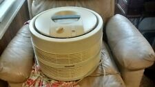 Vintage Honeywell hassock,stool type air cleaner, fan 2 speed works VG