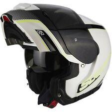 Casco Moto Apribile Scorpion SC-27-249-207 Exo-3000 Air Stroll Bianco