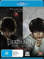 Death Note: Movie 1 & 2 Special Edition - Blu-ray - New Sealed Aus Release