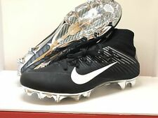 NIKE VAPOR UNTOUCHABLE 2 FOOTBALL CLEATS SIZE 12 BLACK WHITE CHROME 835831-010