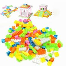 144Pcs Baby Kids Plastic Building Blocks Bricks Puzzle Toy Educational Gifts
