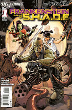 FRANKENSTEIN AGENT OF SHADE 1 2 3 4 5 6 7 8 9 10 11 The New 52 2011 Ponticelli
