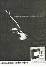 PUBLICITE ADVERTISING 114  1980  JACQUES FATH  parum EXPRESSION