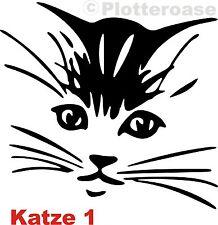 Katze 1,Katzen,Autoaufkleber,Wandtattoo,Heckscheiben,Auto,Aufkleber,Stickers Cat