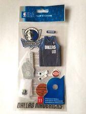 NBA Dallas Mavericks Uniform 3-D Sickers 11 Piece NWT FAST SHIPPING
