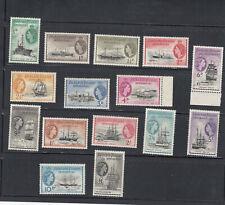 Falklands Dependencies 1954-62 Ships set to £1 SGG26/40 MNH UM cat £225