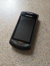 Samsung Monte S5620 - Black Orange (Unlocked) Mobile Phone
