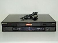 Panasonic NV-HV55 Videorecorder mit S-VHS-Wiedergabe (SQPB), 2 Jahre Garantie