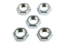M12 x 1.5mm Left Hand Threaded Half Nuts, Ideal for Rose Joints - Pack of 5