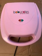 Babycakes Cupcake Maker CC-96RD Non Stick Coating Red Baby Cakes