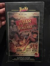 VHS, Cassette Vidéo, K7: LE BAR DE LA VENGEANCE, Rory Calhoun, Clavet, Western