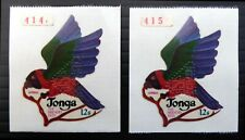 More details for tonga 1974 bird parrot sg481 ex coil with embossed specimen see below sale nv224