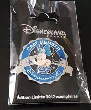Disneyland Paris Pins Cast Member Exclusive 25éme Minnie Mouse Edition limitée