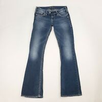 SILVER Womens Bootcut Jeans Size 28