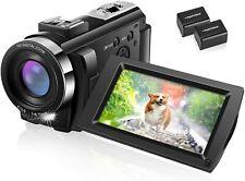 IEBRT FHD 1080P 30FPS 24MP Vlogging YouTube Cameras 16X Digital Zoom Camcorde
